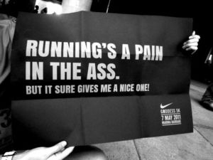 running pain in the arse