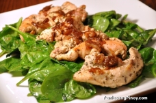 Grilled-Chicken-and-Spinach-Salad