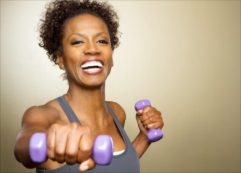 happy-weight-training-woman