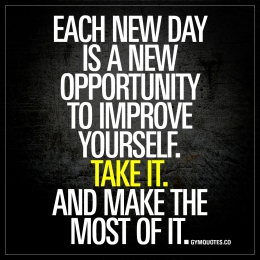 each day opportinuty